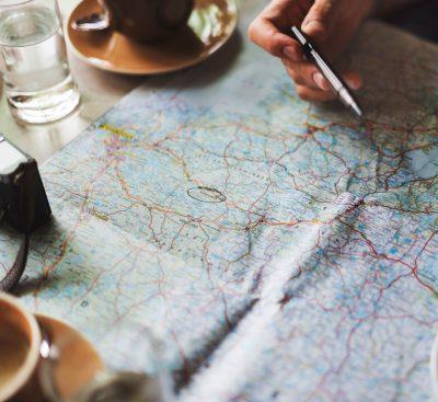 mappa per andare a vivere all'estero