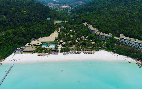 La stupenda spiaggia di Kuala Terengganu