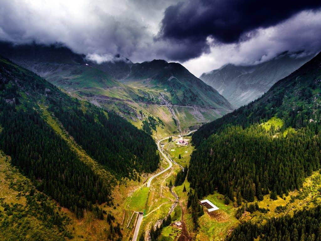 Valle in Romania