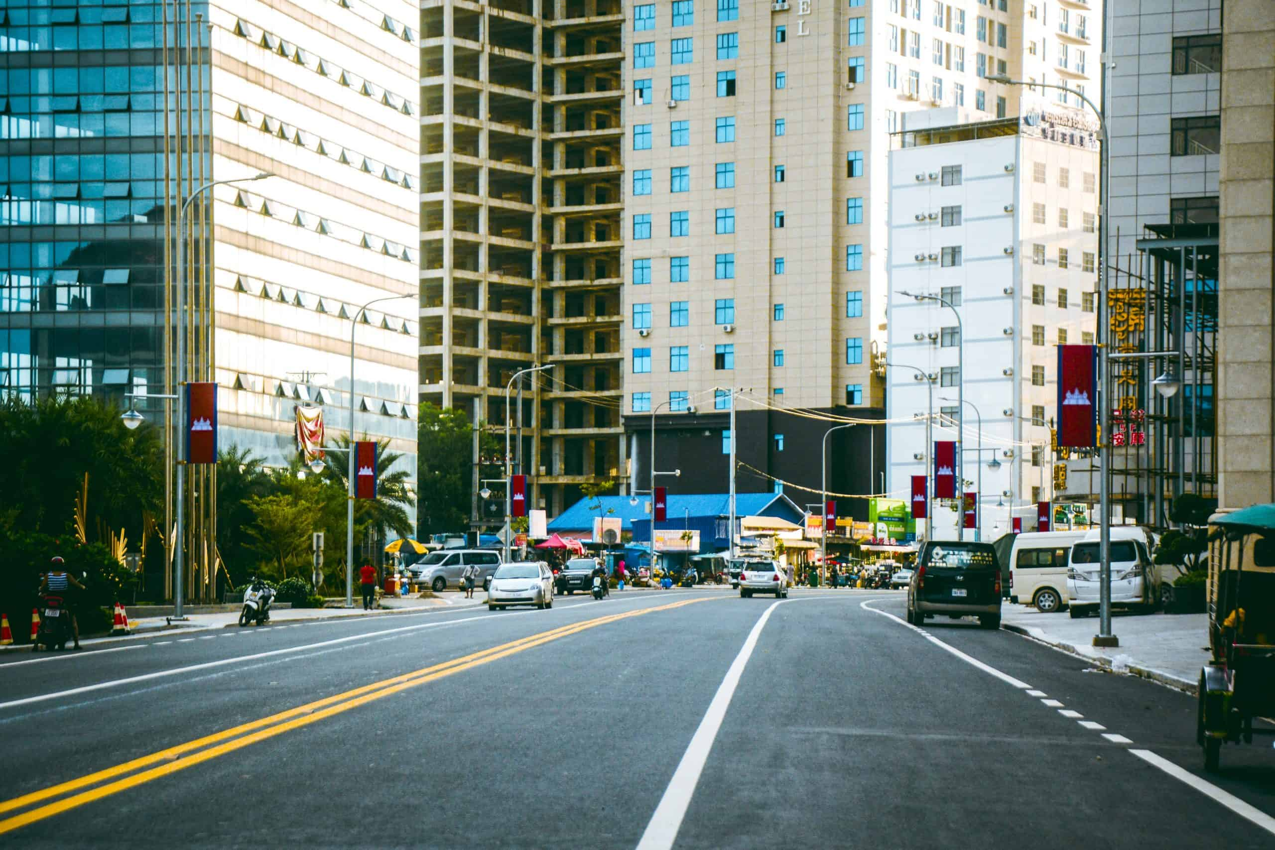 Sihanoukville City Road